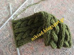 Χειροτεχνήματα: ΠΛΕΞΙΜΟ ΜΕ ΒΕΛΟΝΕΣ ( knitting )