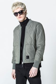 Cheap Monday Image 6 of Trouble Bomber in Elephant Grey
