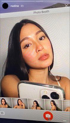 Nadine Lustre Instagram, Lady Luster, Grunge Couple, Selfie Tips, Filipina Actress, Short Wavy Hair, Jadine, Teenage Dream, Girl Crushes
