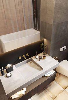 Denis Glushanin on Behance Bathroom Inspo, Bathroom Layout, Bathroom Interior, Bathroom Ideas, Cuba, Architecture Visualization, Decoration, Exterior Design, Interior Architecture