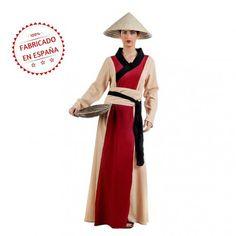 #Disfraz de #China Arrocera para #Mujer