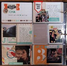 ** Chic Tags- delightful paper tags **: Project Life - malika kelly