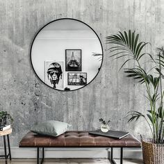 Grunge Concrete Wall - wallpaper Wallpaper for the wall design and ideas Concrete Bedroom, Concrete Interiors, Concrete Walls, Concrete Ceiling, Living Comedor, Concrete Design, Living Room Interior, Living Rooms, Modern Interior Design