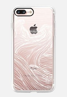 Crashing Waves at Night (Transparent White) iPhone 7 Plus Case by Laurel Mae… White Iphone 7 Case, Iphone 7 Plus Cases, Casetify Iphone 7 Plus, Crashing Waves, Tech Accessories, Night, Classic, Cute, Phones