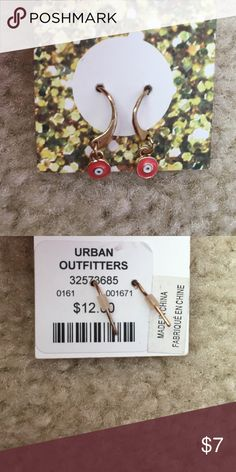 Urban Outfitters Earrings These brand-new urban outfitters earrings are a true statement! They bring a subtle pop of color and easily go with other pieces of jewelry. These earrings are sure to complete an outfit! Urban Outfitters Jewelry Earrings