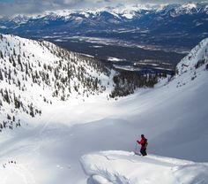 Kicking Horse Mountain Resort in Golden, BC.