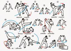 Via a vida com capoeira: Seqüência de Mestre Bimba part 2
