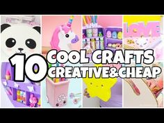 10 COOL CARDBOARD CRAFTS YOU MUST TRY-EPIC things to do WHEN YOU ARE BORED - YouTube