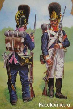 Wurttemburg;- Line Infantry, Grenadier 8th Regiment 1813 & Grenadier NCO 6th Regiment 1812