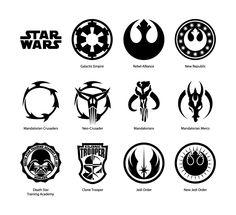 Star Wars vector emblems by cartonus on @DeviantArt
