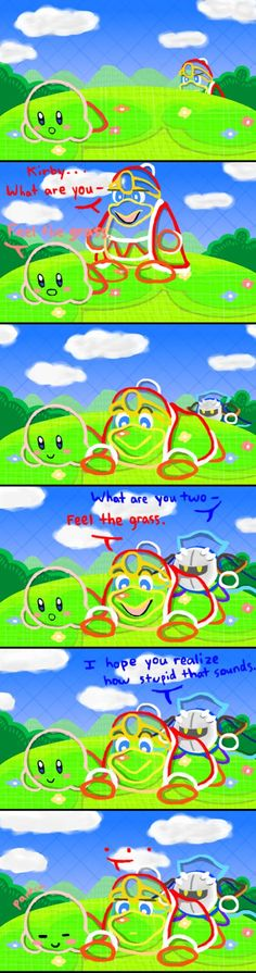 Kirby: Epic Yarn by 3-Minute-Noodles on DeviantArt