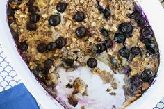 Baked Oatmeal with Fruit by annies-eats #Oatmeal #annies_eats