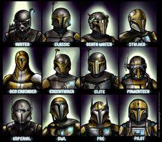 Mandalorian Helmets by Araxussyexyr - Mandalorian Helmets by Araxussyexyr - #araxussyexyr #GardenPlanning #helmets #mandalorian #StarWars #StarWarsArt