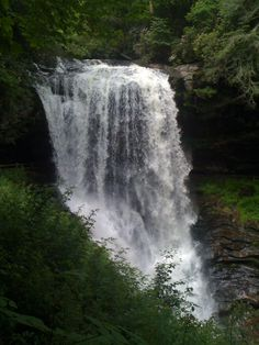 Dry Falls (65') aka Upper Cullasaja Falls, Nantahala NF, NW of Highlands, NC