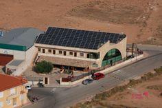 Vista aérea del Centro de rutas guiadas y alojamiento rural La Escarihuela
