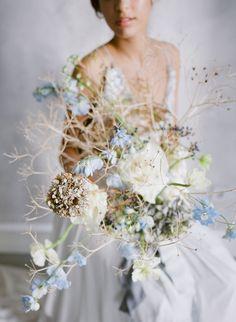 Serene coastal bridal inspiration in blue and grey hues | Portugal Bridal Inspiration