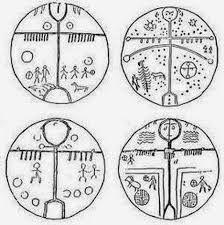 Afbeeldingsresultaat voor tree of life in rune turkic