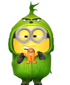 Minion Rock, Minion 2, Minion Banana, Orange, Yellow, Bananas, Film, Green, Movie