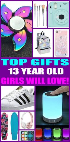 Top gifts for 13 year old girls! Here are the best gifts for that special girls 13th birthday or for her christmas present. Thirteen year old girls will love any of the products from this top gift list. Educational and fun gift ideas for a girls thirteenth birthday.