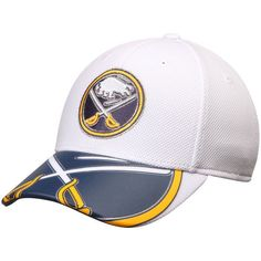 040947a9a Men s Buffalo Sabres Reebok Face Off Draft Flex White Hat