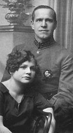 Жуков, Георгий Константинович — С женой Александрой (1920-е)