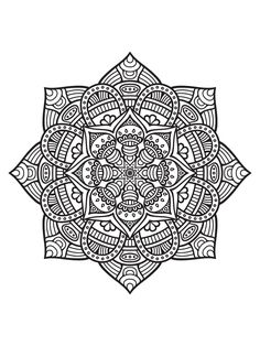 Mindfulness Mandalas Nº1