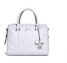6470e5bbb493 GUESS KILEY SATCHEL LILAC BAG TOTE HANDBAG BAG Guess Handbags