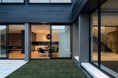 Moderna Casa en Melbourne Mostrando un Aspecto Industrial Creativo