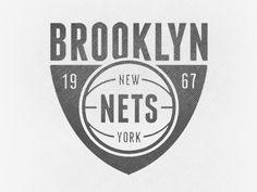 Designspiration — Dribbble - Brooklyn Nets by John Duggan