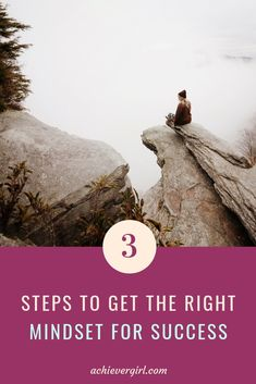 3 Steps To Get The Right For Success // Achiever Girl Financial Success, Success Mindset, Growth Mindset, Saving For Retirement, Early Retirement, How To Make Money, How To Get, Investing In Stocks, Best Blogs