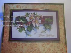 vixenvarg: Decoupage Delights...Christmas Designs Day 3