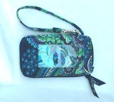 Vera Bradley Wallet Wristlet Phone Holder in Blue Rhapsody 2010 Retired Pattern | Clothing, Shoes & Accessories, Women's Accessories, Wallets | eBay!