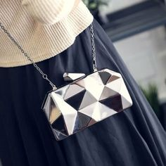 Cute Geometric handbag!