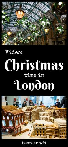 Video: Christmas time in London