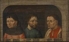 Los Apóstoles Simón, Judas y Tomás - Colección - Museo Nacional del Prado