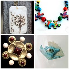 Mosaic:  The Neat and Unusual.  Ad presented on Craft Gossip.com by Elaine Robittaille...