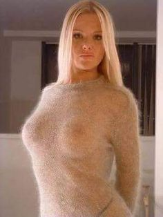 In sweaters pics boobs