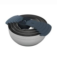 Product Image for Joseph Joseph® 100 Series 9-Piece Stainless Steel Nesting Mixing Bowl Set 1 out of 5