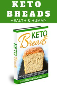 The Essential Guide to Keto Bread. Including 35 Keto-Friendly Bread Recipes with Net Carbs or Less. These Low carb keto bread recipes are made with Coconut flour and Almond Flour. They are easy and so simple to make. The very best keto bread recipes to Low Carb Appetizers, Low Carb Desserts, Appetizer Recipes, Easy Keto Bread Recipe, Best Keto Bread, Bread Recipes, Healthy Diet Recipes, Low Carb Recipes, Cooking Recipes