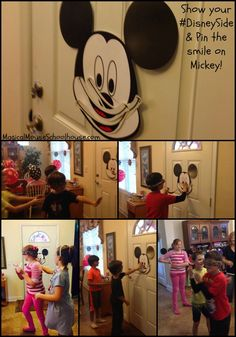Pin the smile on Mickey at our #DisneySide @ Home Celebration #DisneyParks #MomSelect