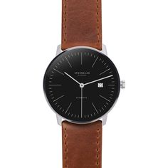 STERNGLAS Automatic 38 mm brown - black edition