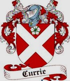 Currie (Corry) family Crest Currie (Corry)