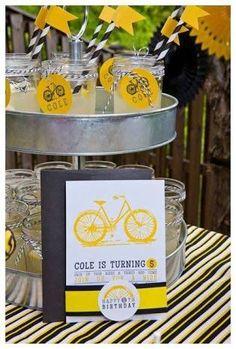 Resultado de imagem para festa com tema de bicicleta