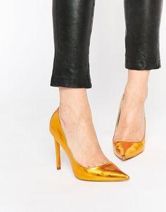 ASOS+PLATINUM+Pointed+High+Heels