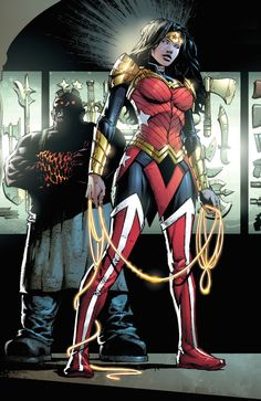 The Reason For Wonder Woman's New Costume - Yahoo Games