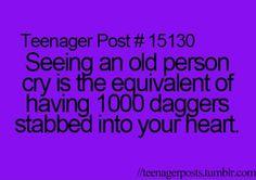 True story. Teenager Posts