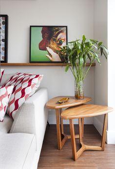 Dois apês, duas decorações e o mesmo layout - Casa