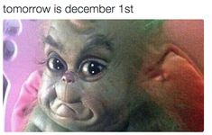 And your face starts to look like this: | 25 Pictures That Are Too Real If You're Slightly Obsessed With Christmas