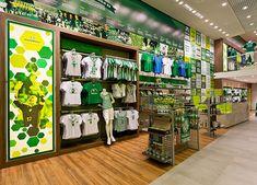 Palmeiras Academia Store by FAL Design Estratégico, São Paulo » Retail Design Blog