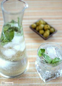 Receta de rebujito de hierbabuena para refrescarnos y combatir el calor